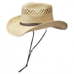 Larimore Raffia Stetson Hat