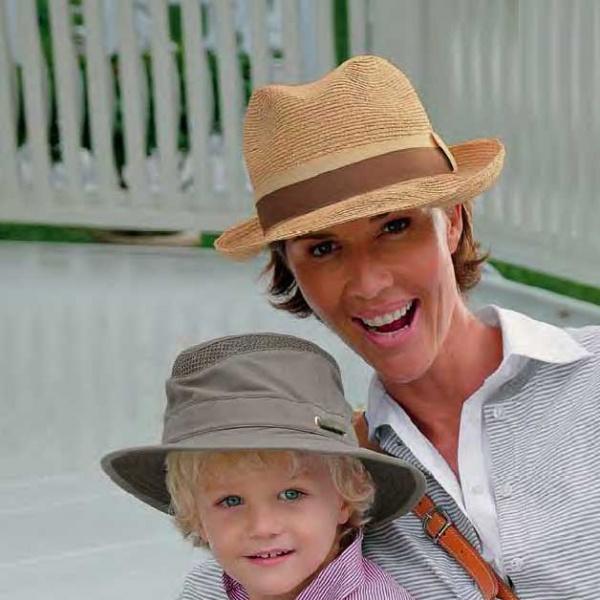 Le R7 chapeau Tilley en raphia
