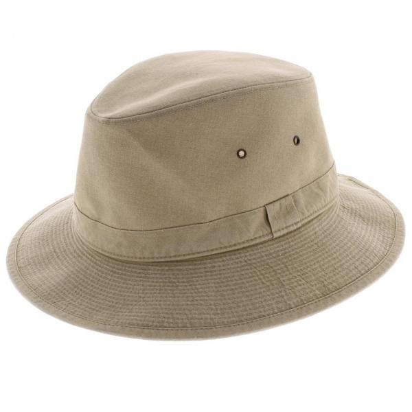 Chapeau safari coton