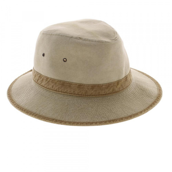 chapeau Safari coton 2 coloris fabrique en france