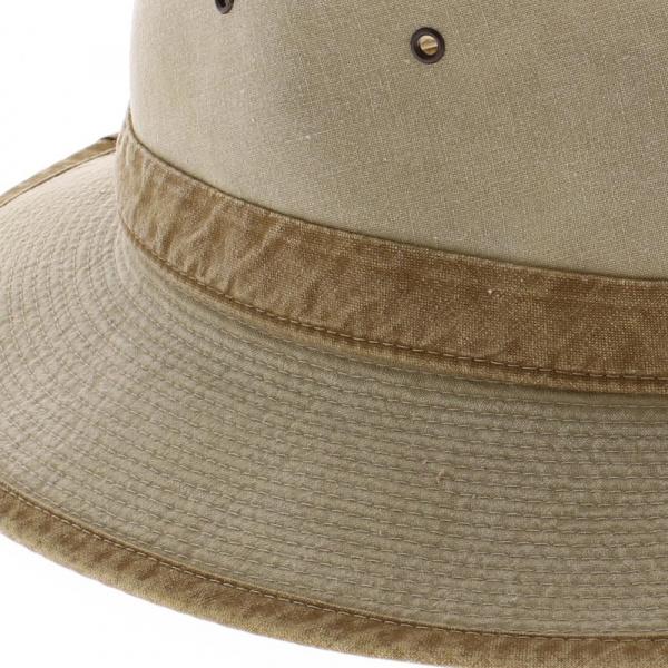vente en ligne de chapeau safari coton 2 coloris
