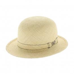 Bowler Panama hat