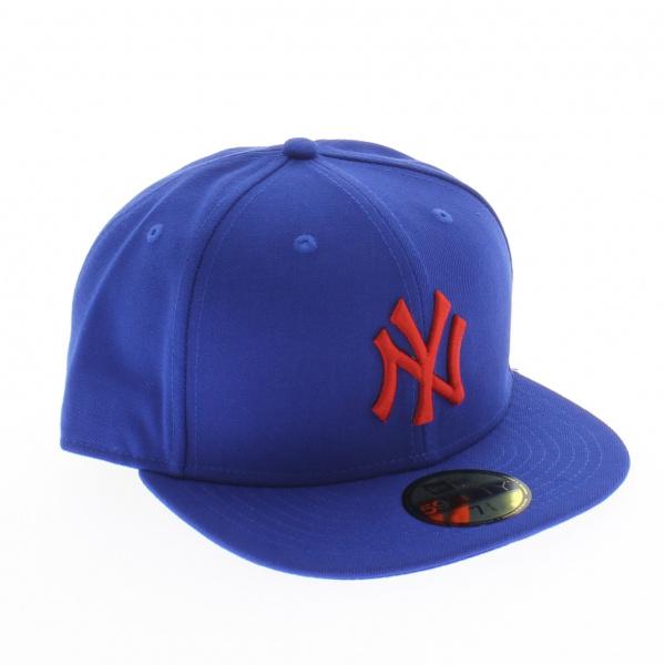 Casquette NY Seascont bleue