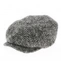 Casquette hatteras classique noir et blanc