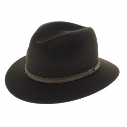 Borsalino hat Allegro Rain Proof brown
