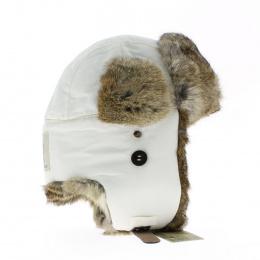 vente en ligne de la chapka supplex Madbomber blanc