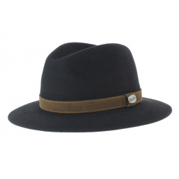 006d3b5045981 rain proof brown traveller hat - Borsalino