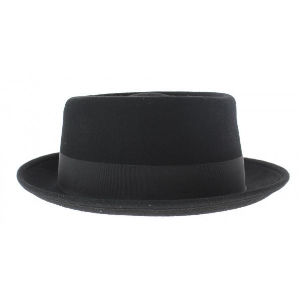 Chapeau porkpie noir