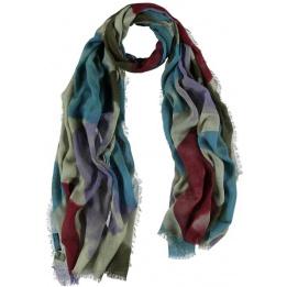 Echarpe en polyester de couleur des éléments de conception