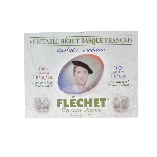 Veritable beret basque Français Flechet