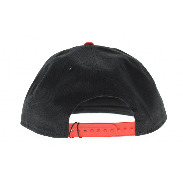 Snap cap Cayler & SONS Windy City noir - rouge - blanc