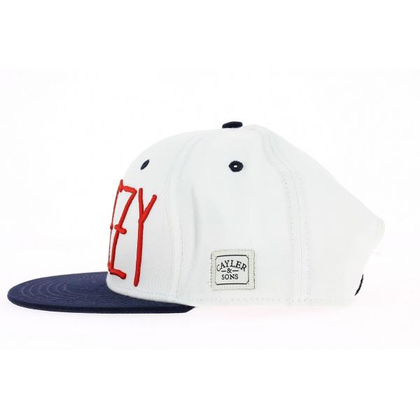 Cayler & SONS Weezy blanc - bleu - rouge