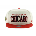 Blockshed Chicago Blackhawks beige rouge