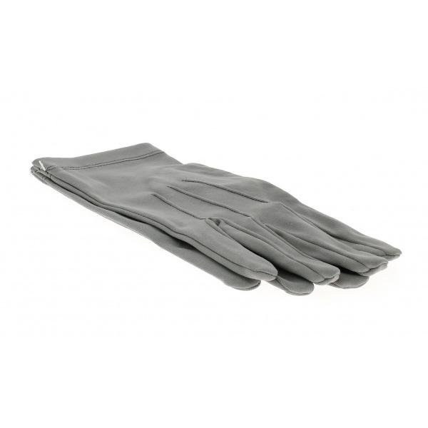 Gants de cérémonie gris