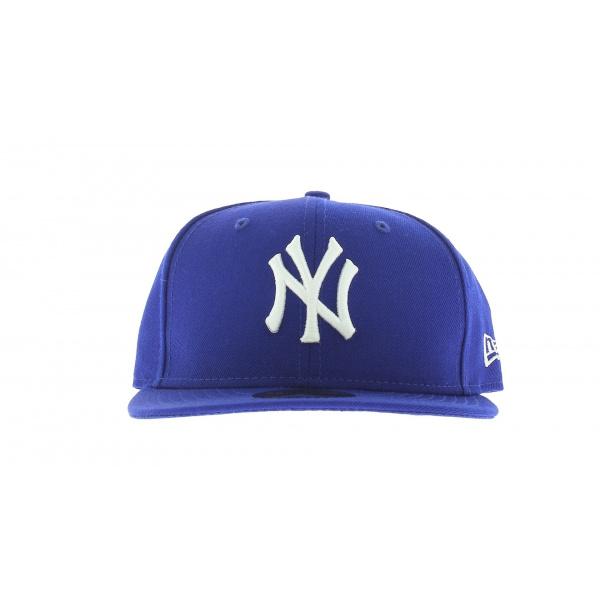 Casquette New York bleu