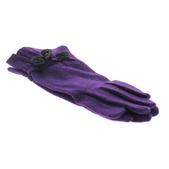 Fancy glove woman Oriane