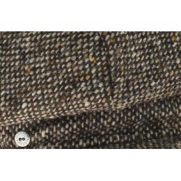 Casquette Gavroche Tweed Coco - Marron