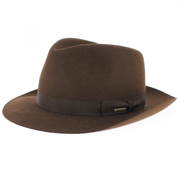 Chapeau Bogart - Penn marron