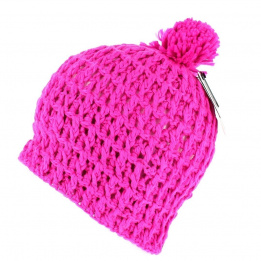 The Waffle Neon Pink Coal Cap