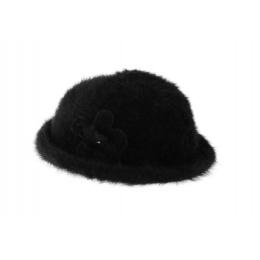 Chapeau Angora Fee noir