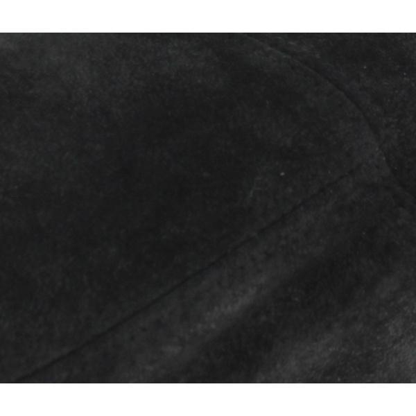 Casquette Ralph Cuir Noir - Traclet
