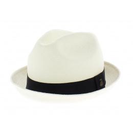 Panama hat form  trilby  black ribbon