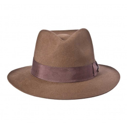Chapeau Indiana - Feutre poil mocca
