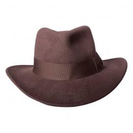Chapeau Traveller Indiana Jones Feutre laine Marron