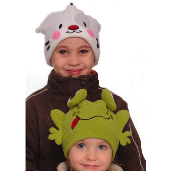 b65350563ffab Bonnet rigolo grenouille verte enfant