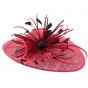 Hypsoline chapeau de cérémonie - Fushia