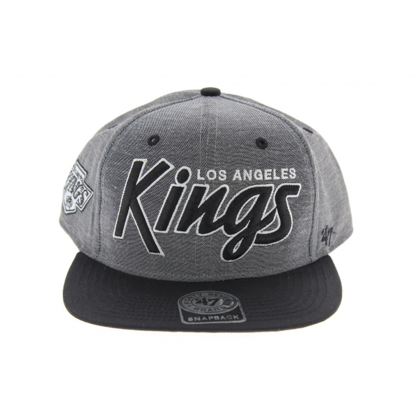 casquette visi re plate los angeles kings vintage. Black Bedroom Furniture Sets. Home Design Ideas
