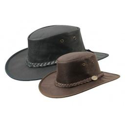 Chapeau cuir de kangourou - Sundowner Barmah