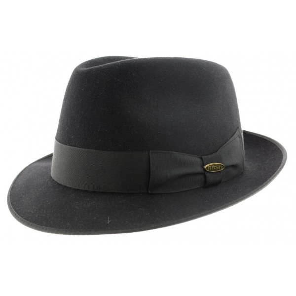 16cbbc00 Hat small edge style blues brothers par Flechet
