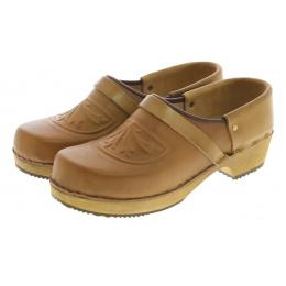 Leather clogs - Saint Nicolas
