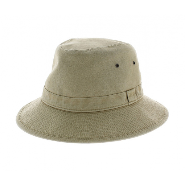 Chapeau Safari Tchad cache nuque - Crambes