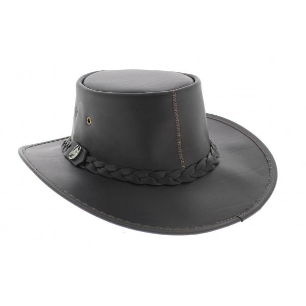 Tasmania leather hat