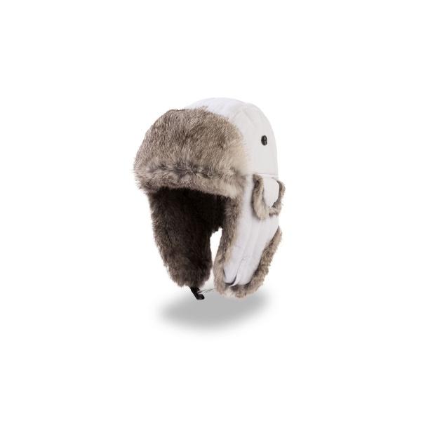 Chapka fourrure - Lapeer blanche