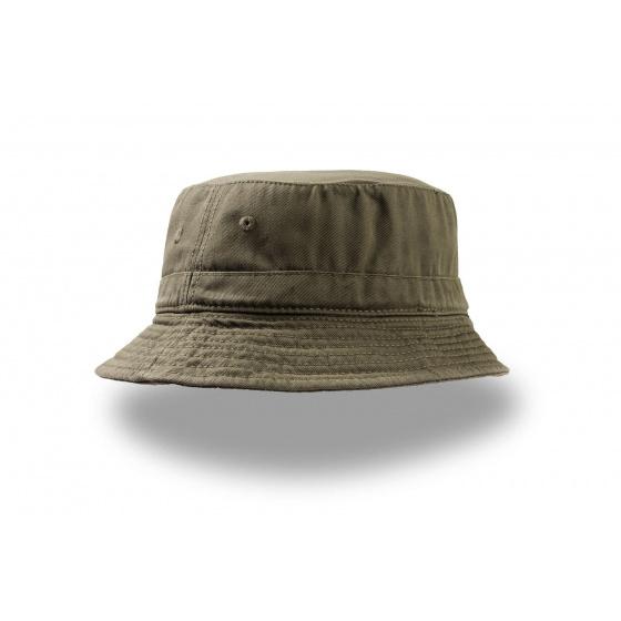 Chapeau Bob coton Forever kaki - Atlantis