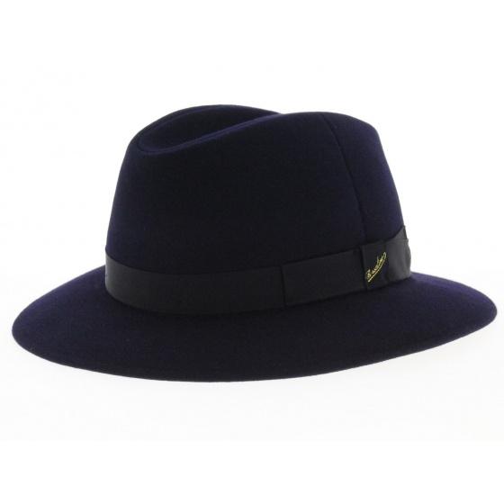 Borsalino Hat Foldable felt