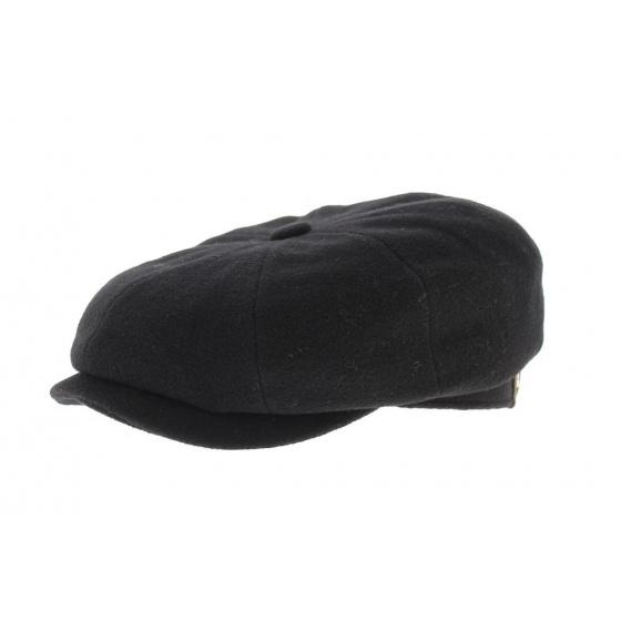 hatteras cap black wool