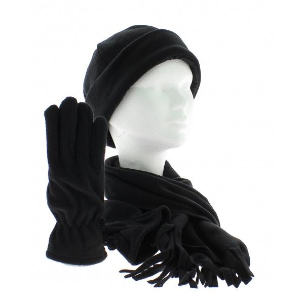 Ensemble bonnet echarpe et gants assortis ... e2fa1e389d1