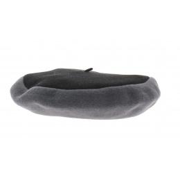 Beret amboise noir et gris- Héritage par Laulhère