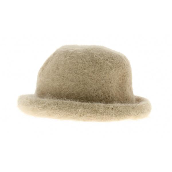 Angora bell hat