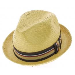 Chapeau paille Castor - Brixton