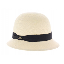 Chapeau Cloche Panama Traclet