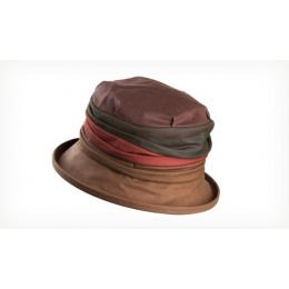 Chapeau Cloche coton ciré Ruby OLNEY