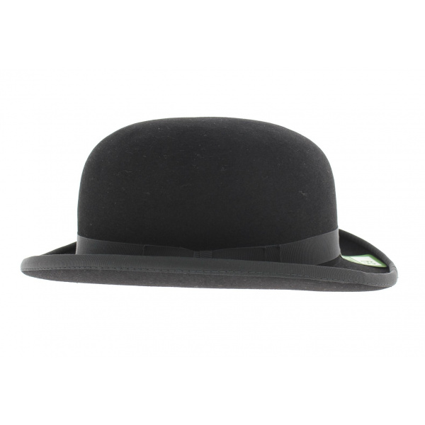 Hair felt bowler hat