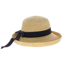 Chapeau de paille femme - livorno