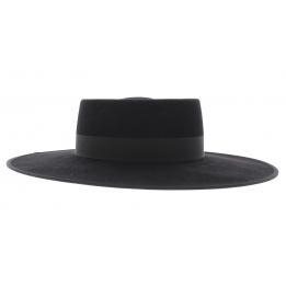 Chapeau feutre grand bord