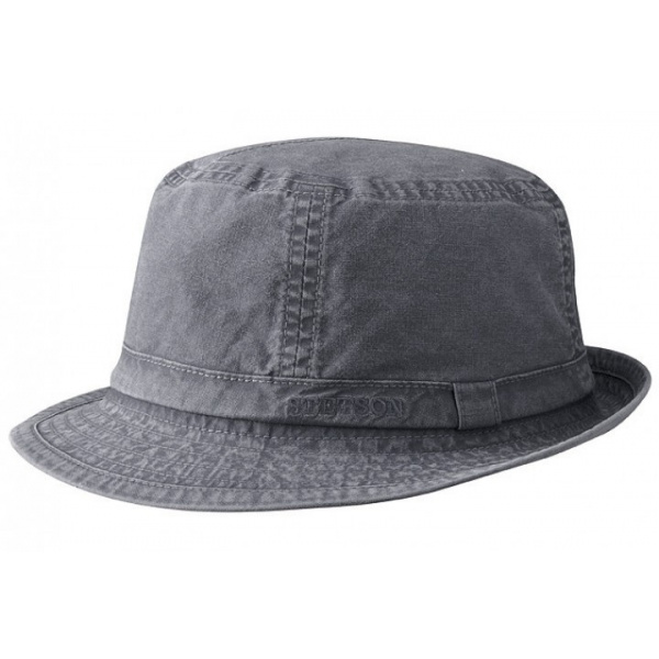 Hat black Fabric Stetson Gander